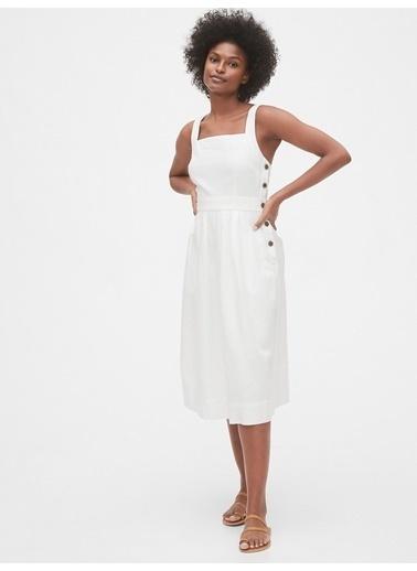 Gap Elbise Beyaz